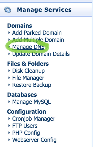 manage-dns