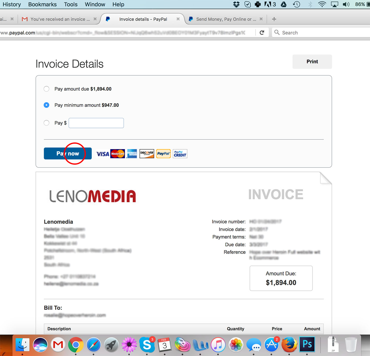 How To Get An Invoice From Paypal How To Pay A Paypal Invoice Without A Paypal Account