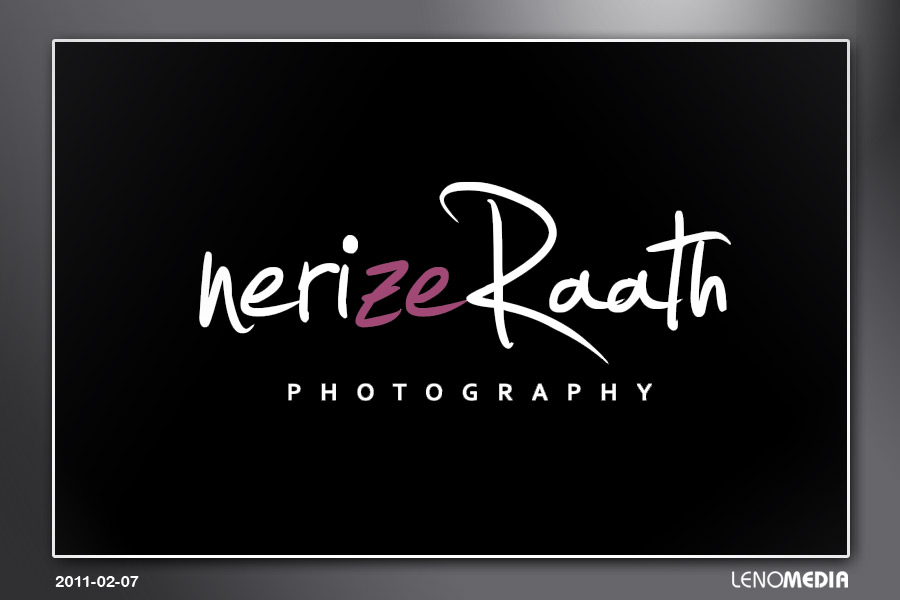 Nerize Raath Photography Logo Inverse