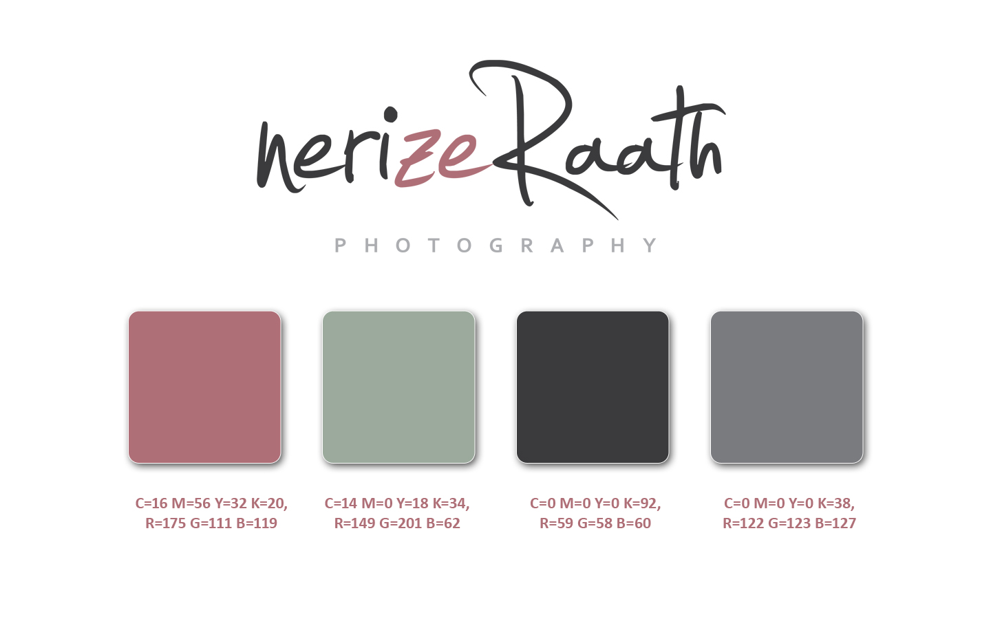 Nerize Raath Photography CID Colourscheme