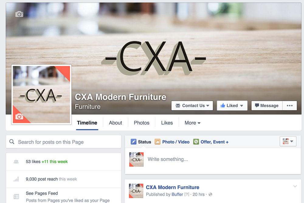 Facebook Marketing CXA