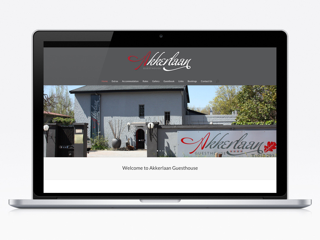 Akkerlaan Guesthouse Website