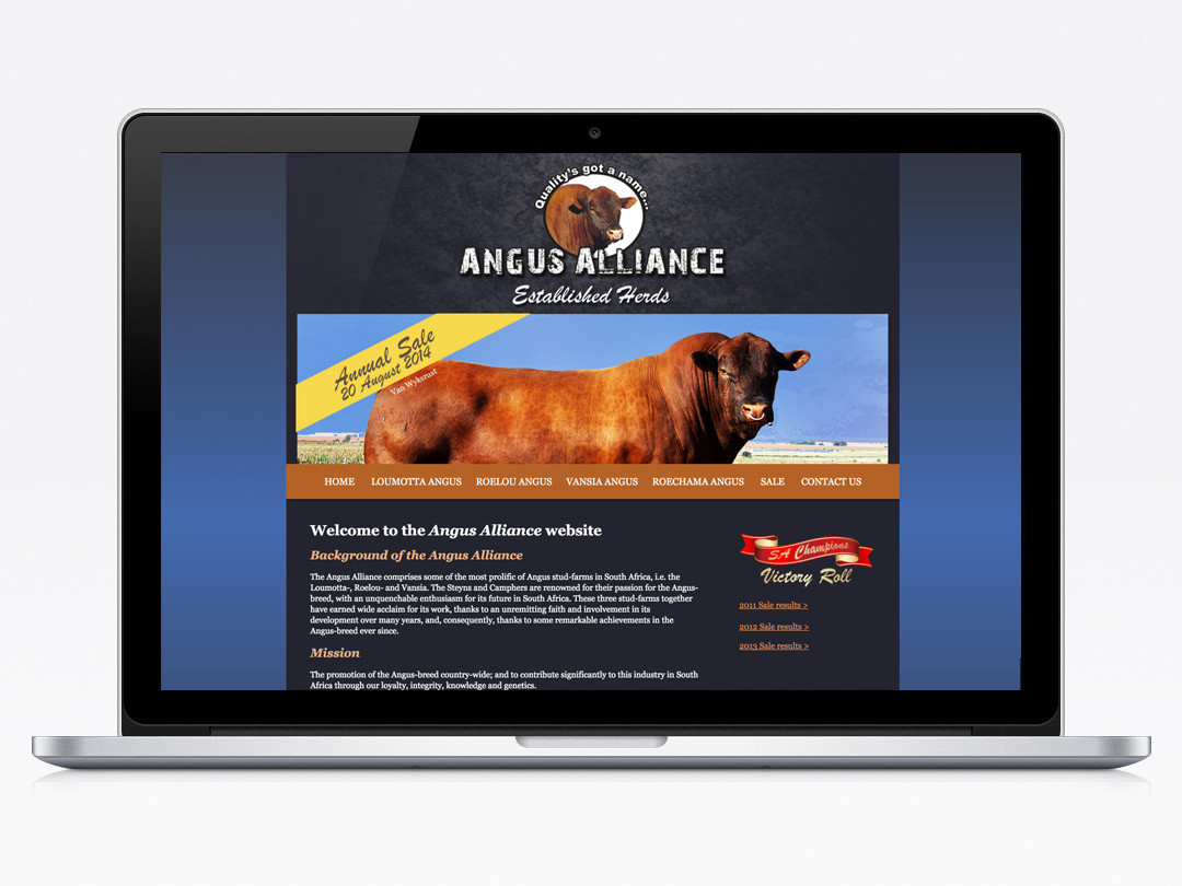 Angus Alliance Website