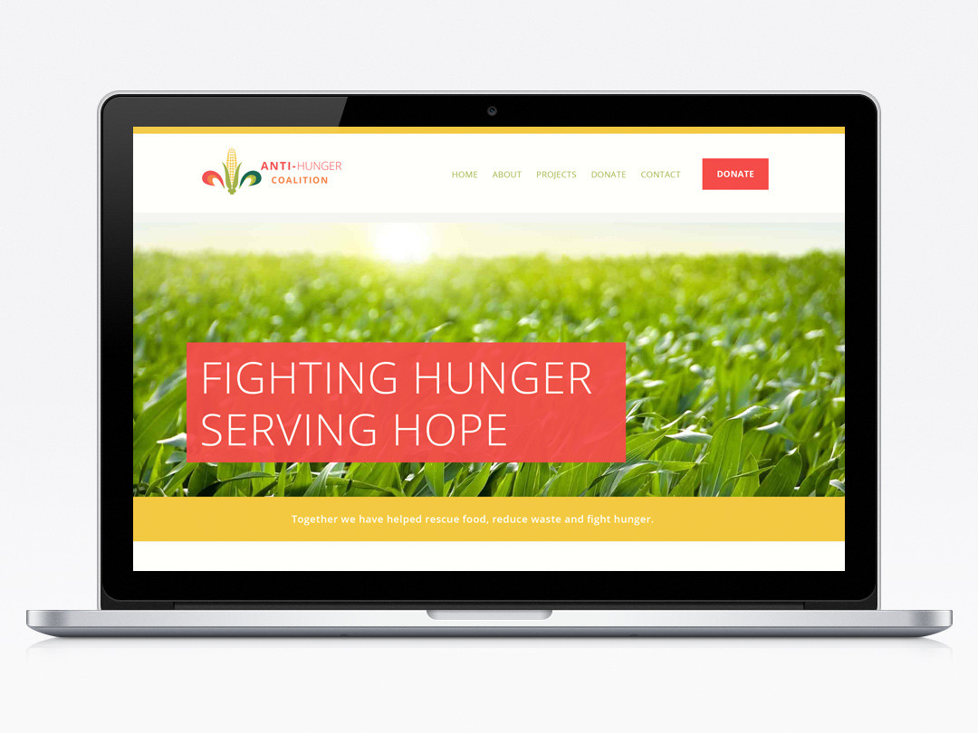 Anti-Hunger Coalition Webiste