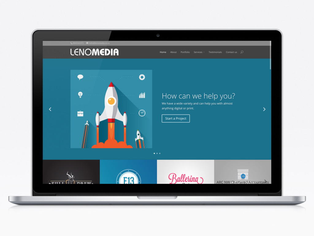 Lenomedia website