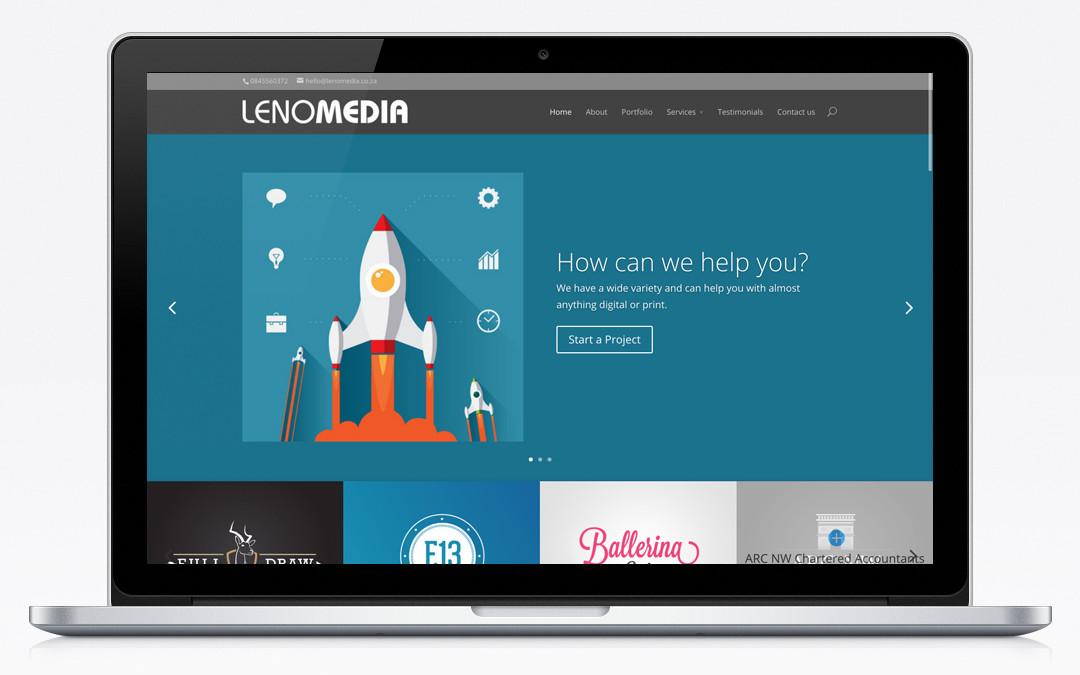 Lenomedia website