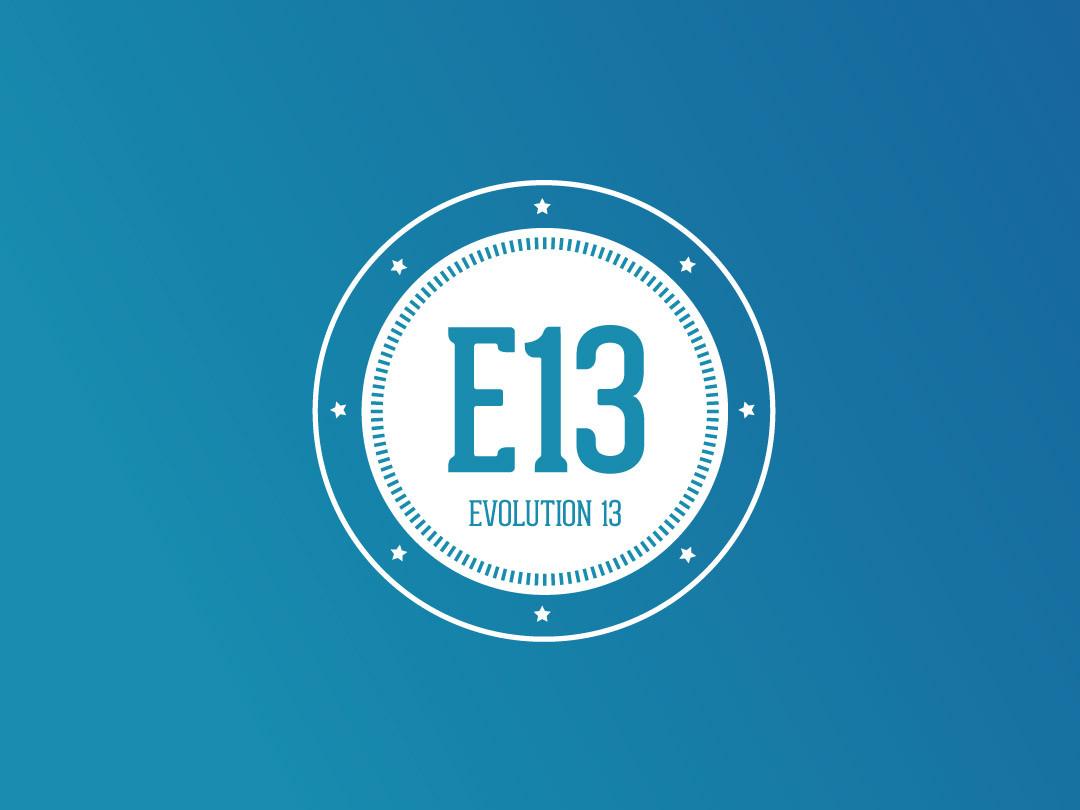 E13 Logo design