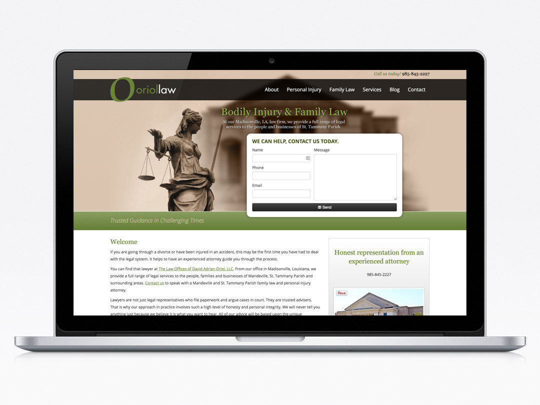 Orial Law Website