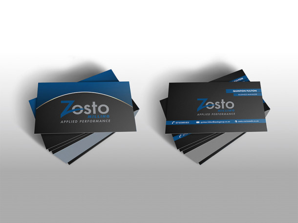 Zesto Group Business Cards