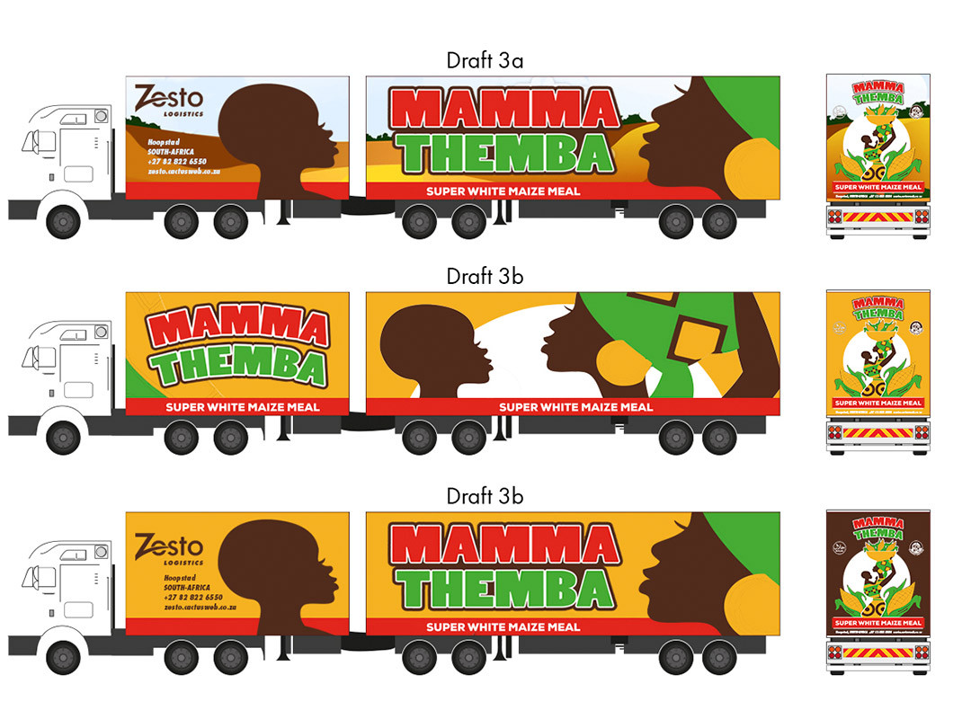 Zesto Group Truck Branding Concepts