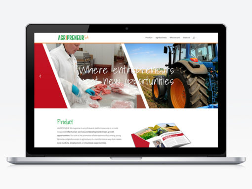 Agripreneur SA website