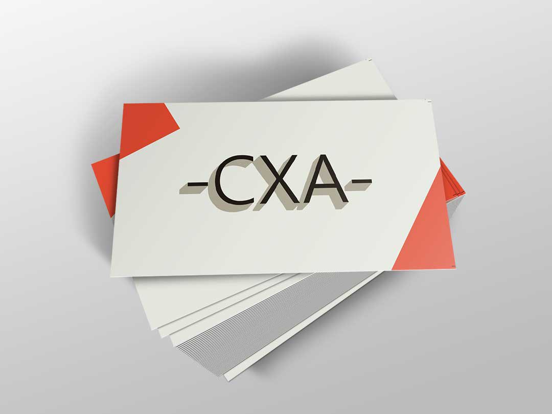 CXA Business Card Design