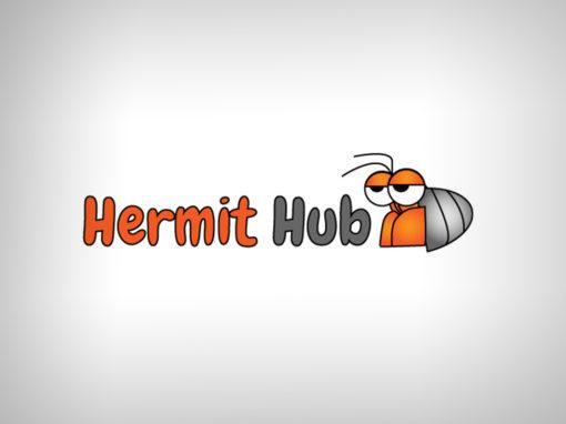 Hermit Hub Logo Design