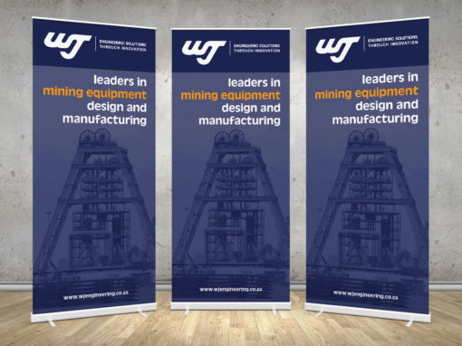 WJ Engineering – Pull up Banners