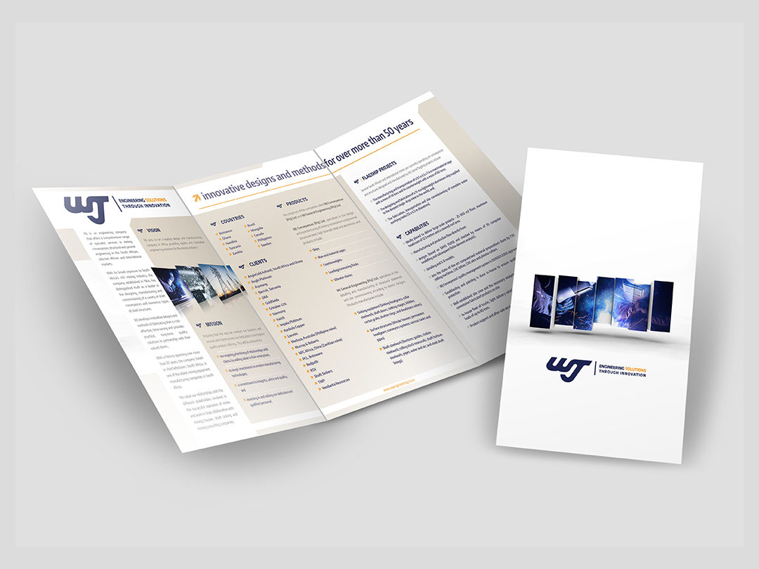 WJ Engineering Brochures