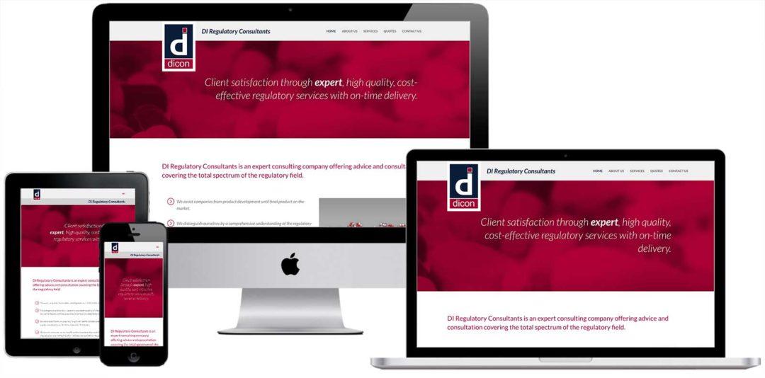 DiConsultants Website Redesign